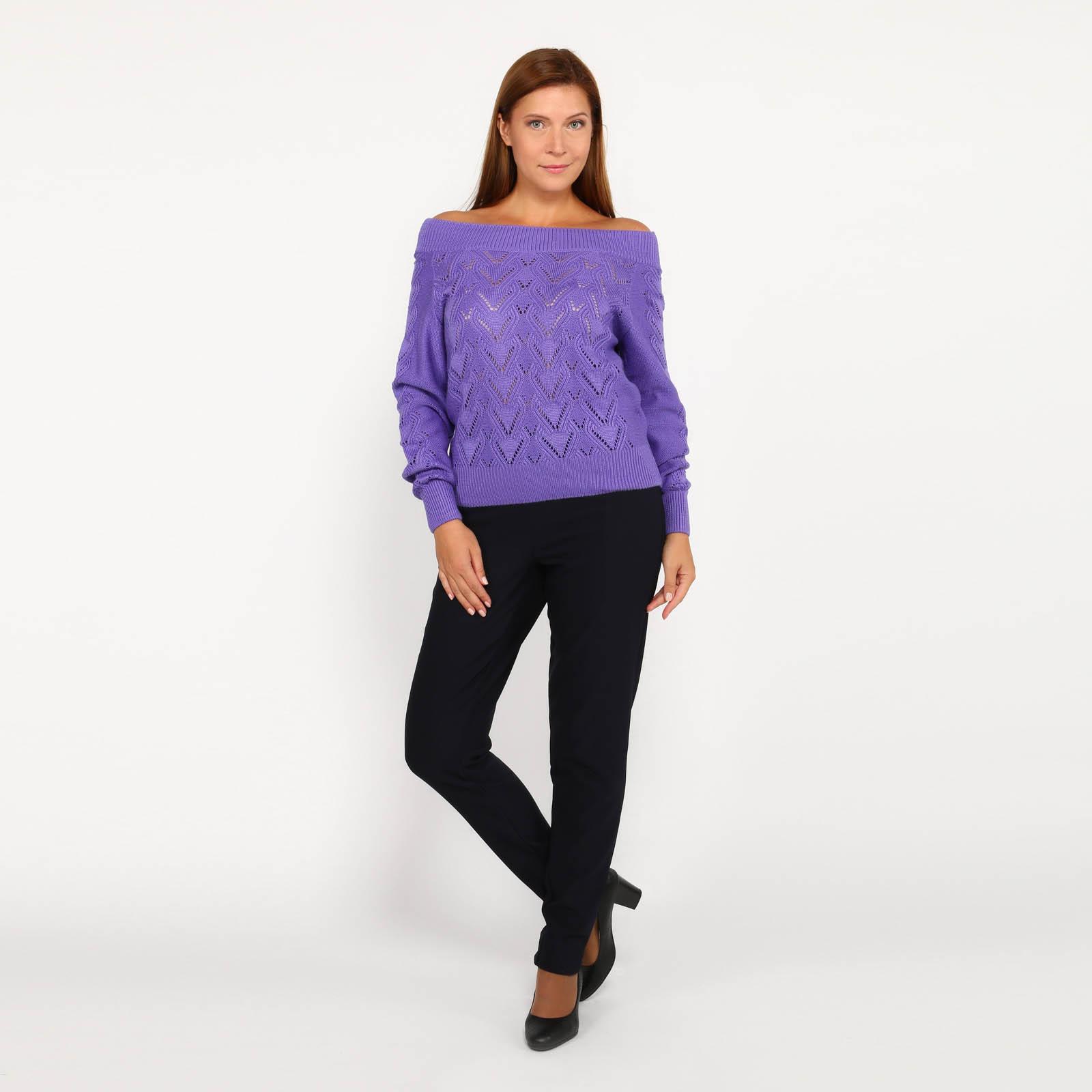 Джемпер женский с плетением