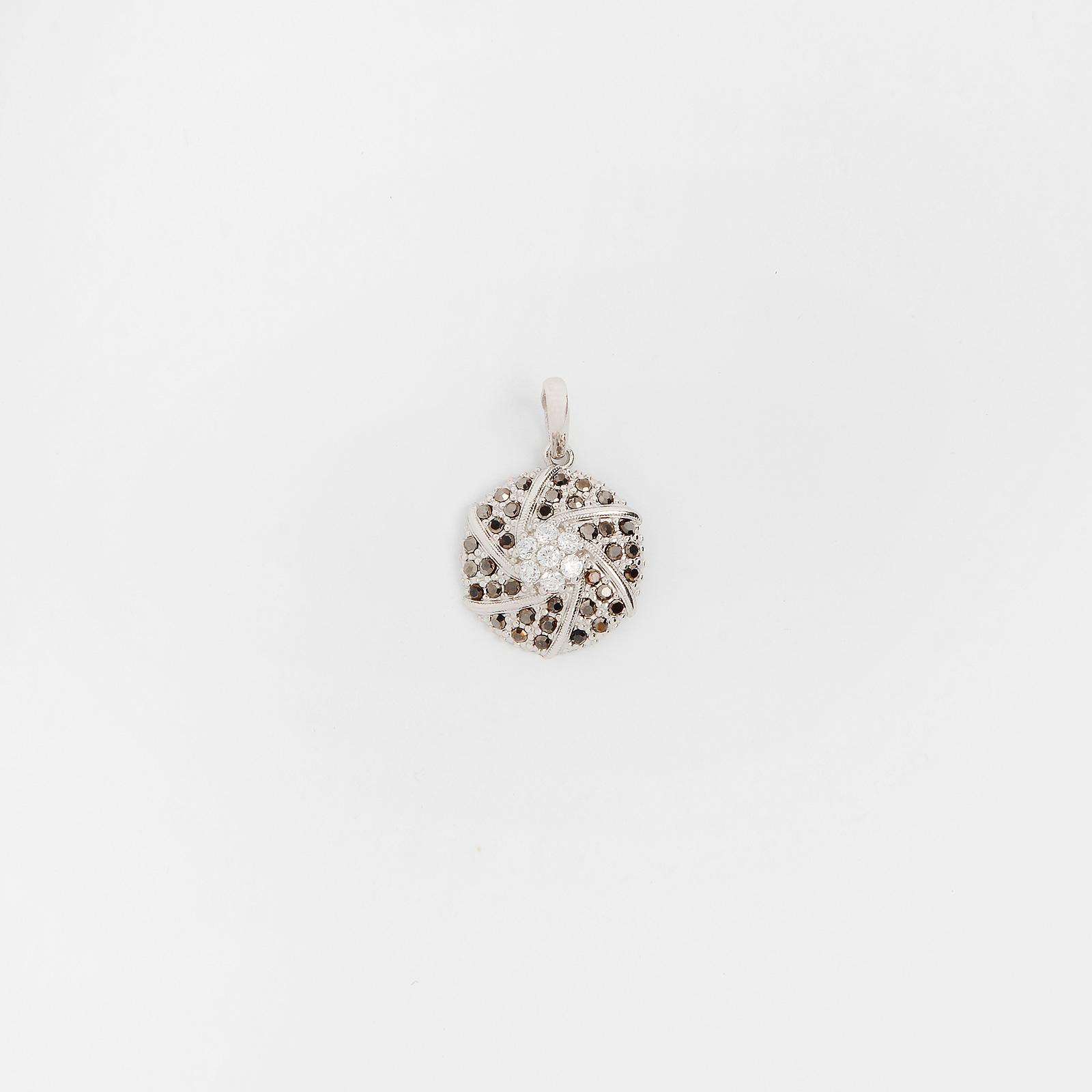 Серебряная подвеска «Бриллиантовая россыпь»
