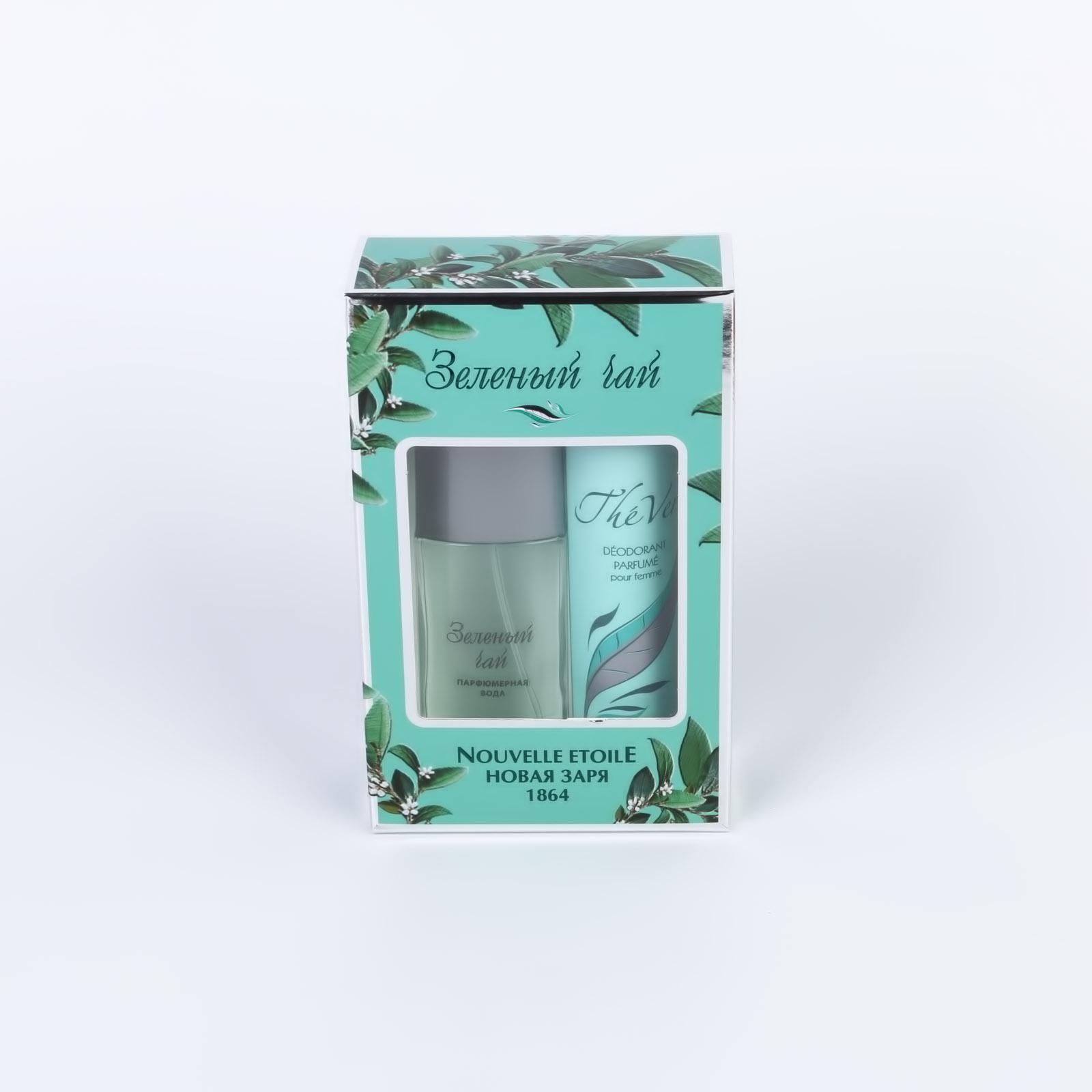 Подарочный набор для женщин «Зеленый чай»