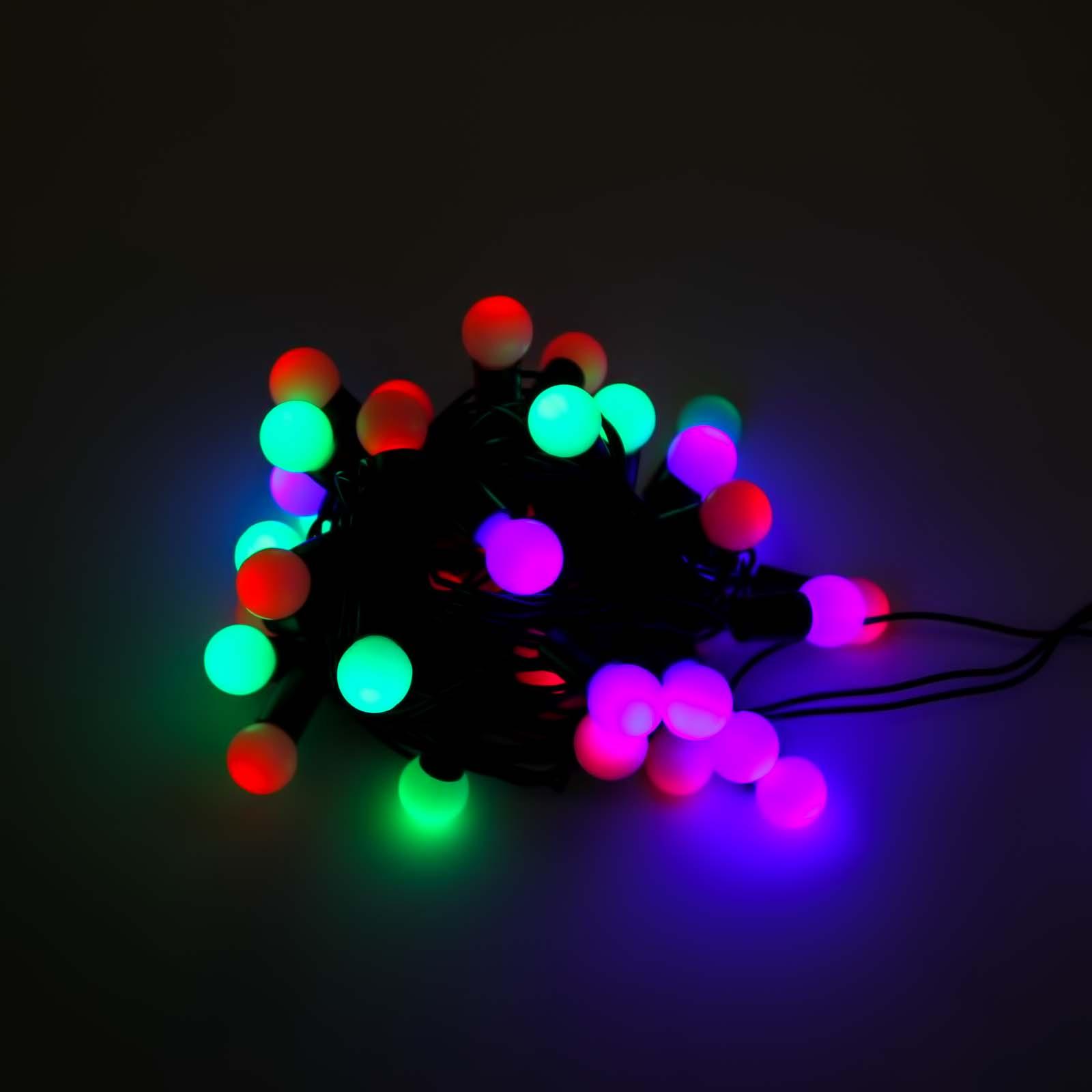 Елочная электрогирлянда «Веселые шарики»