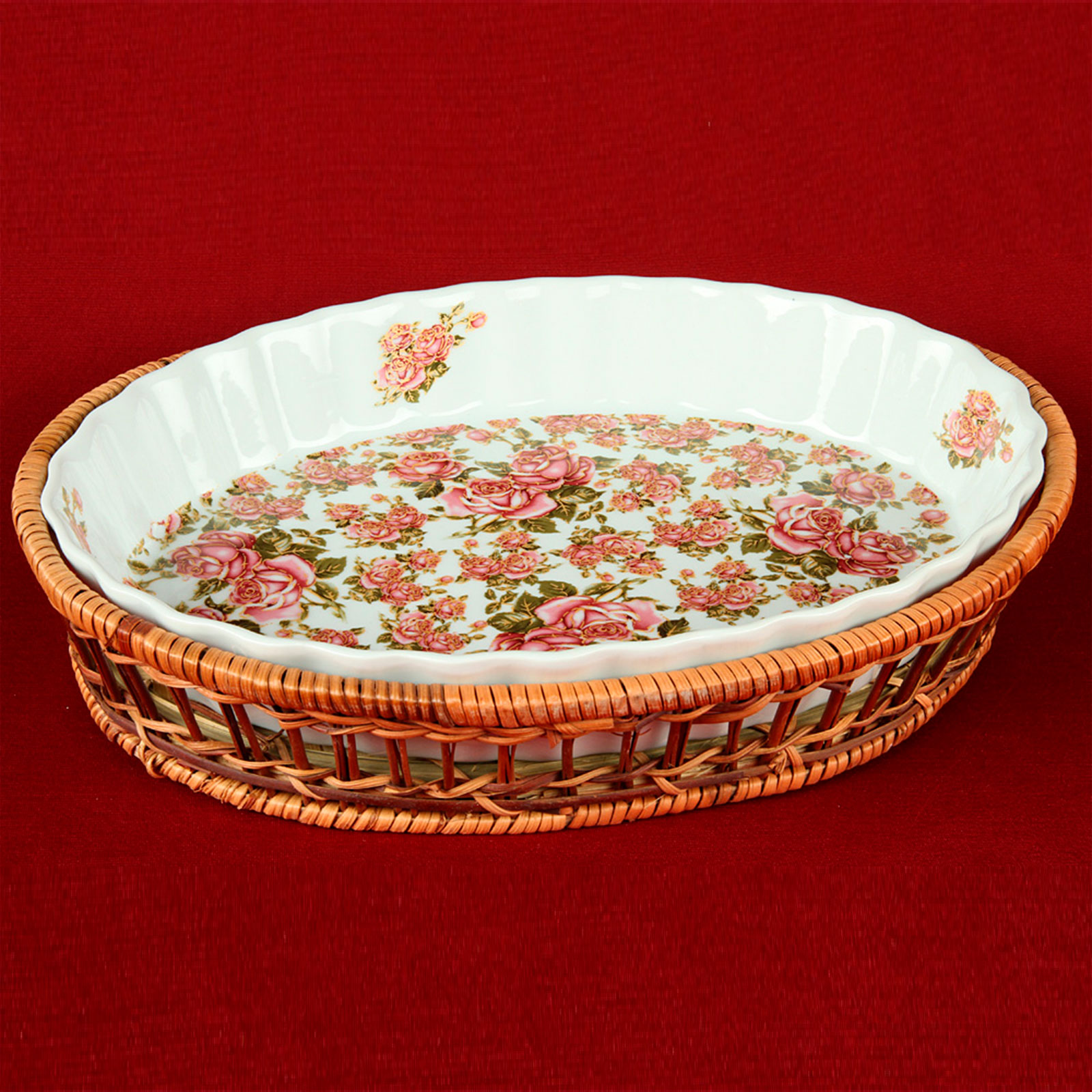 Блюдо для запекания «Китайская роза»