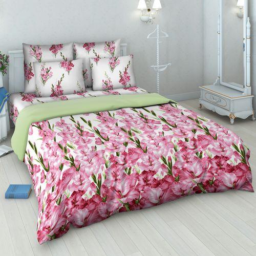 Комплект постельного белья «Розовые гладиолусы»