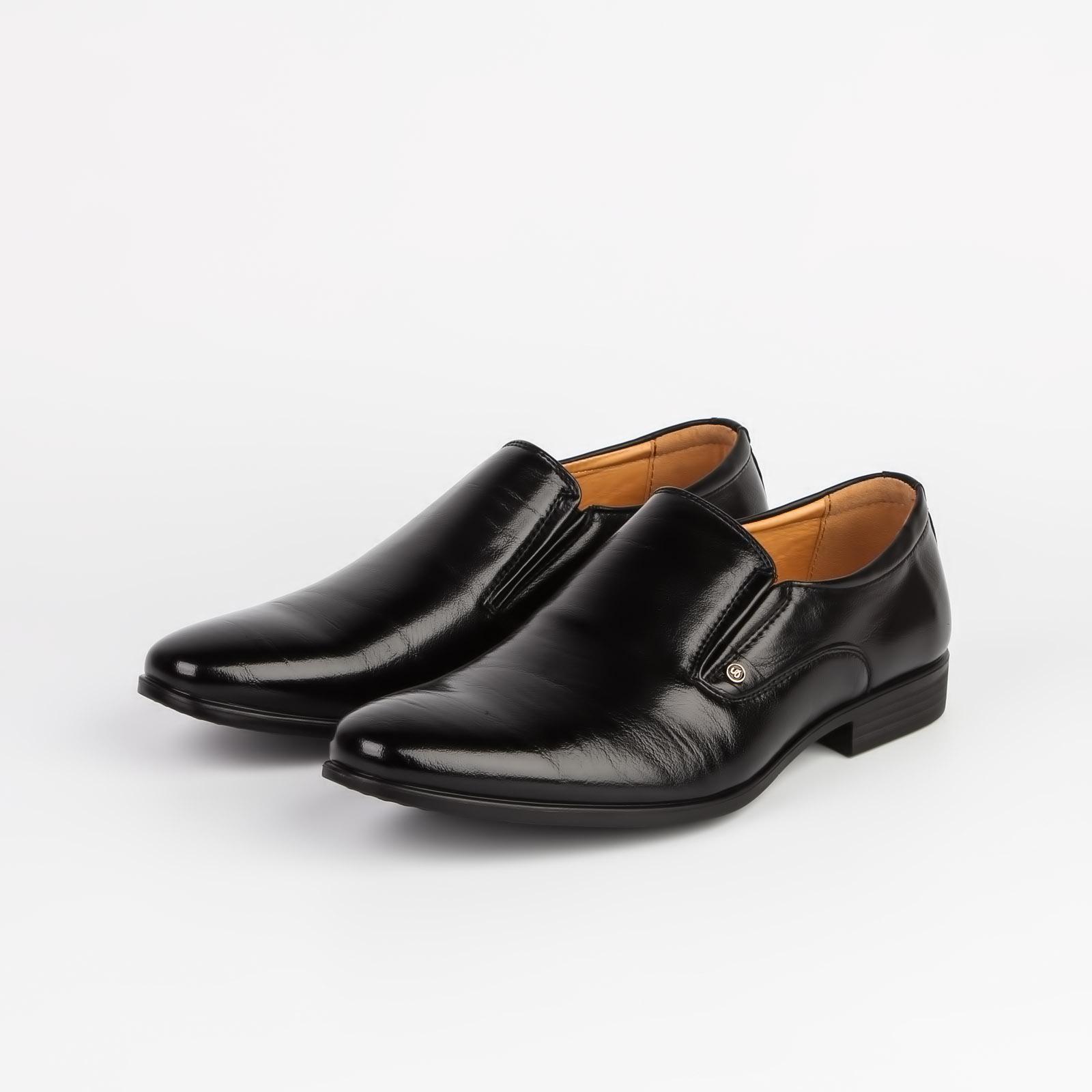 Мужские туфли с эластичными вставками