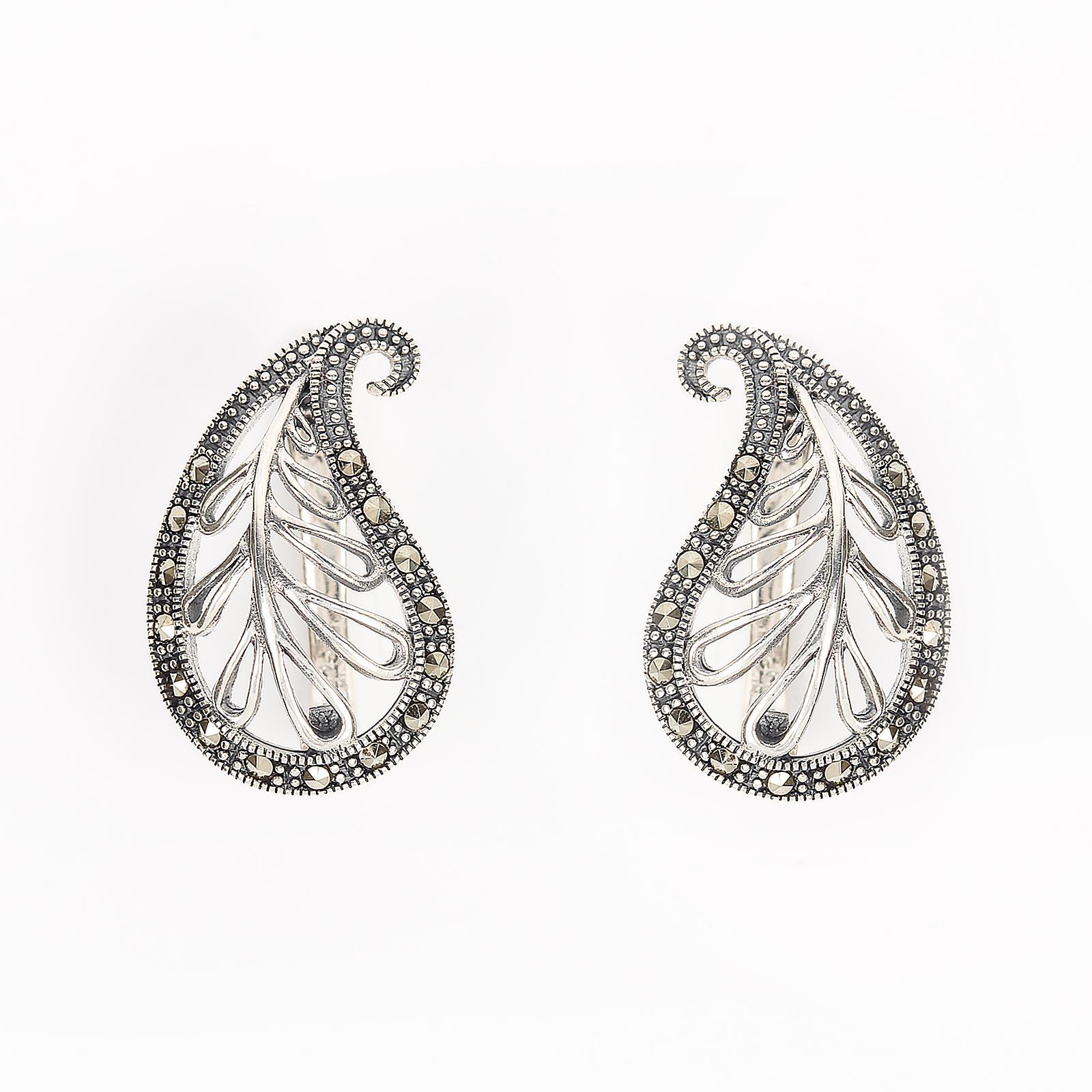 Серебряные серьги «Анет»