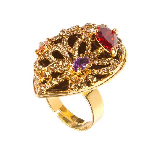 Кольцо «Пламя любви»
