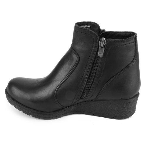 Практичные женские ботинки из натуральной кожи