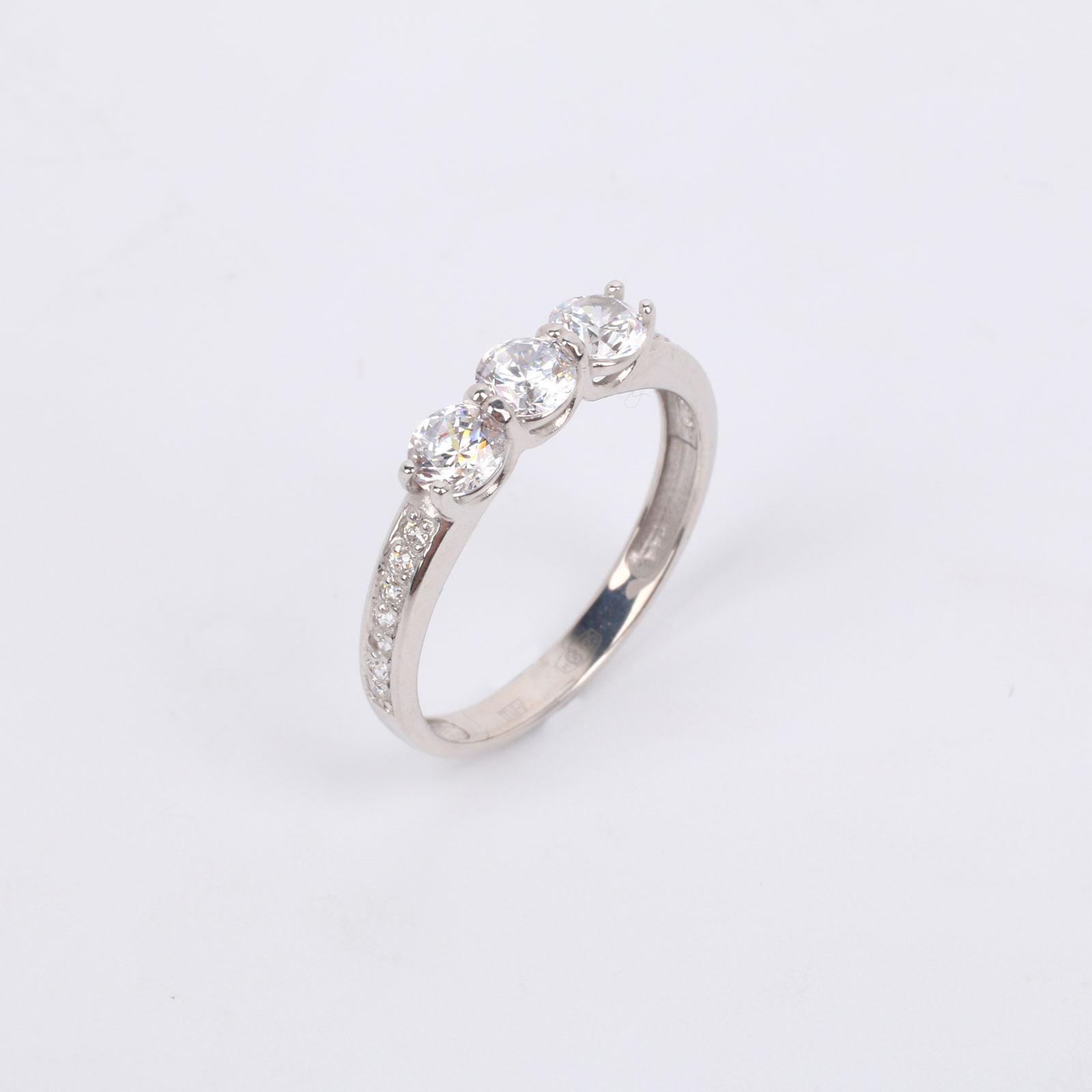 """Серебряное кольцо """"Благородные кристаллы"""""""