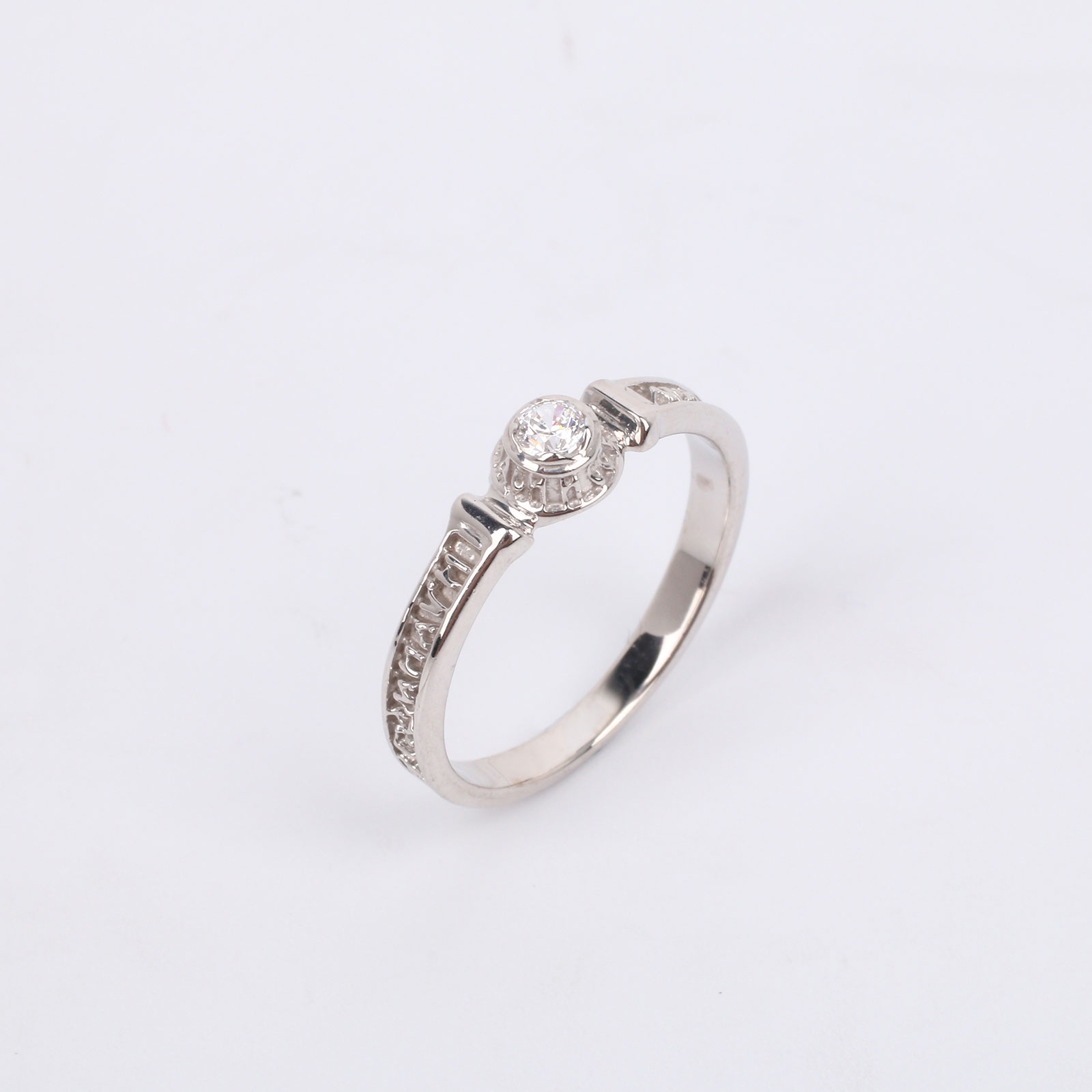 """Серебряное кольцо """"Очаровательное чувство"""""""
