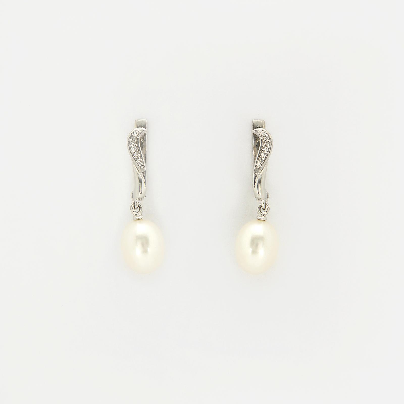 Серебряные серьги «Одри»