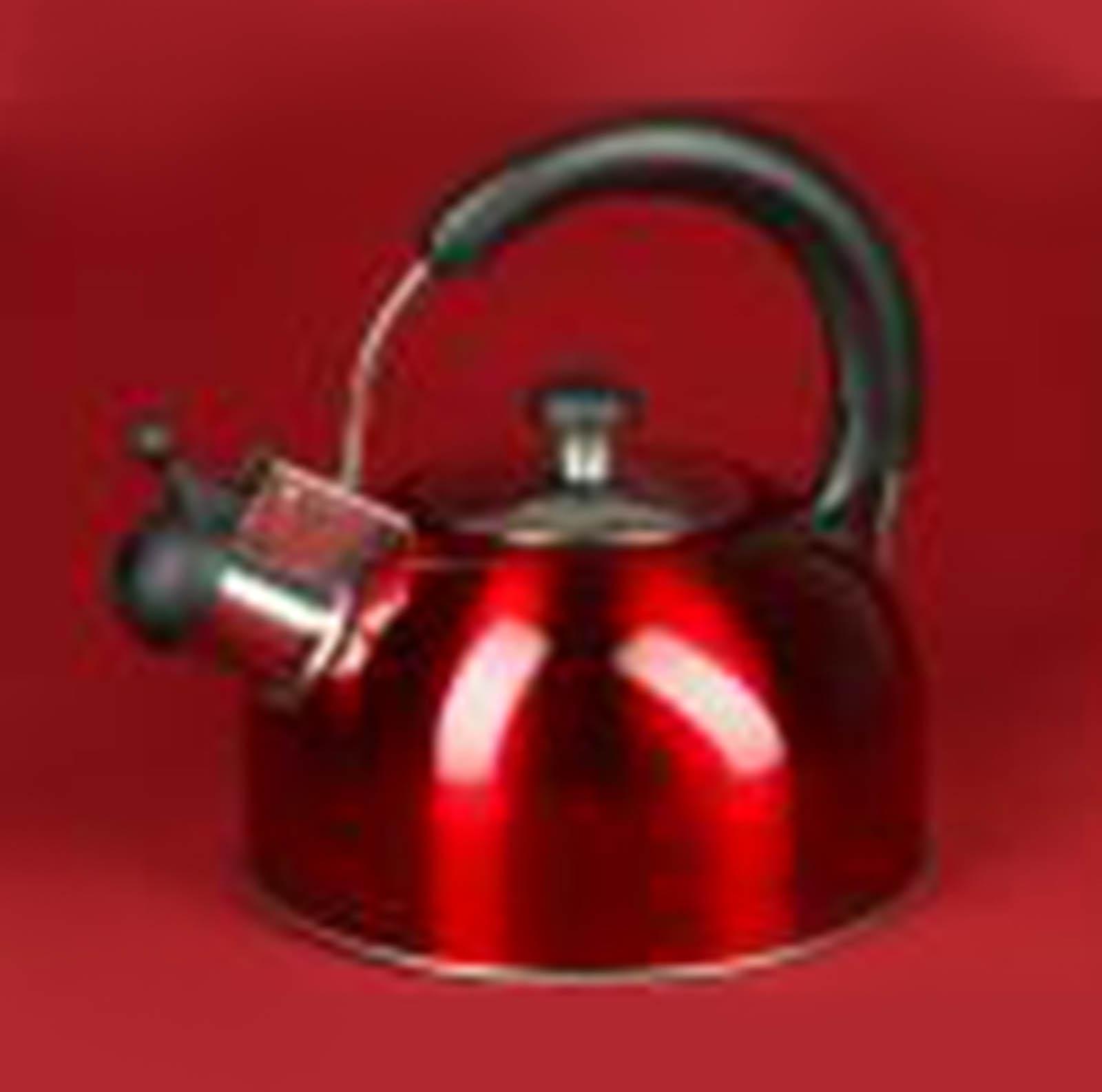 """Чайник со свистком """"Сочная вишня"""", 3,5 литра"""