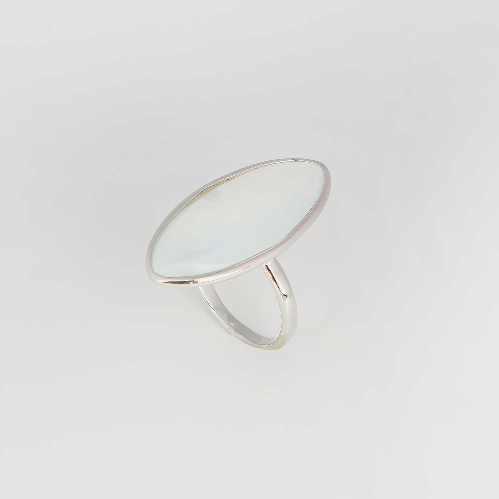 Серебряное кольцо «Туман»