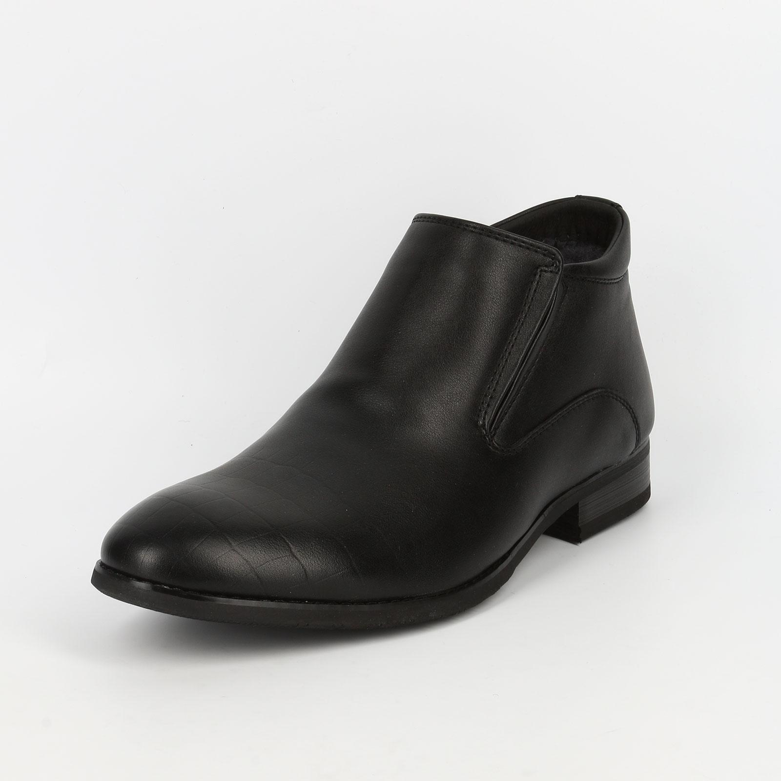 Ботинки с мысом под рептилию