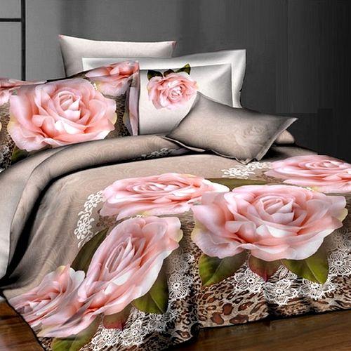Комплект постельного белья «Кружевные розы»