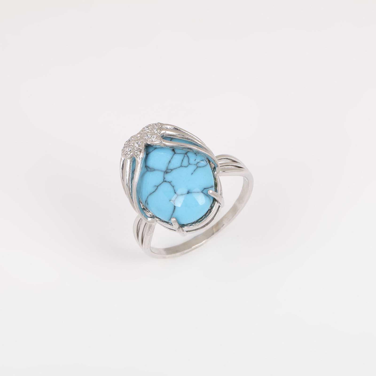 Серебряное кольцо «Владычица»