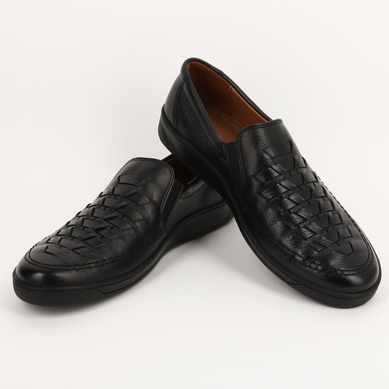 Туфли комфортные с оригинальным плетением