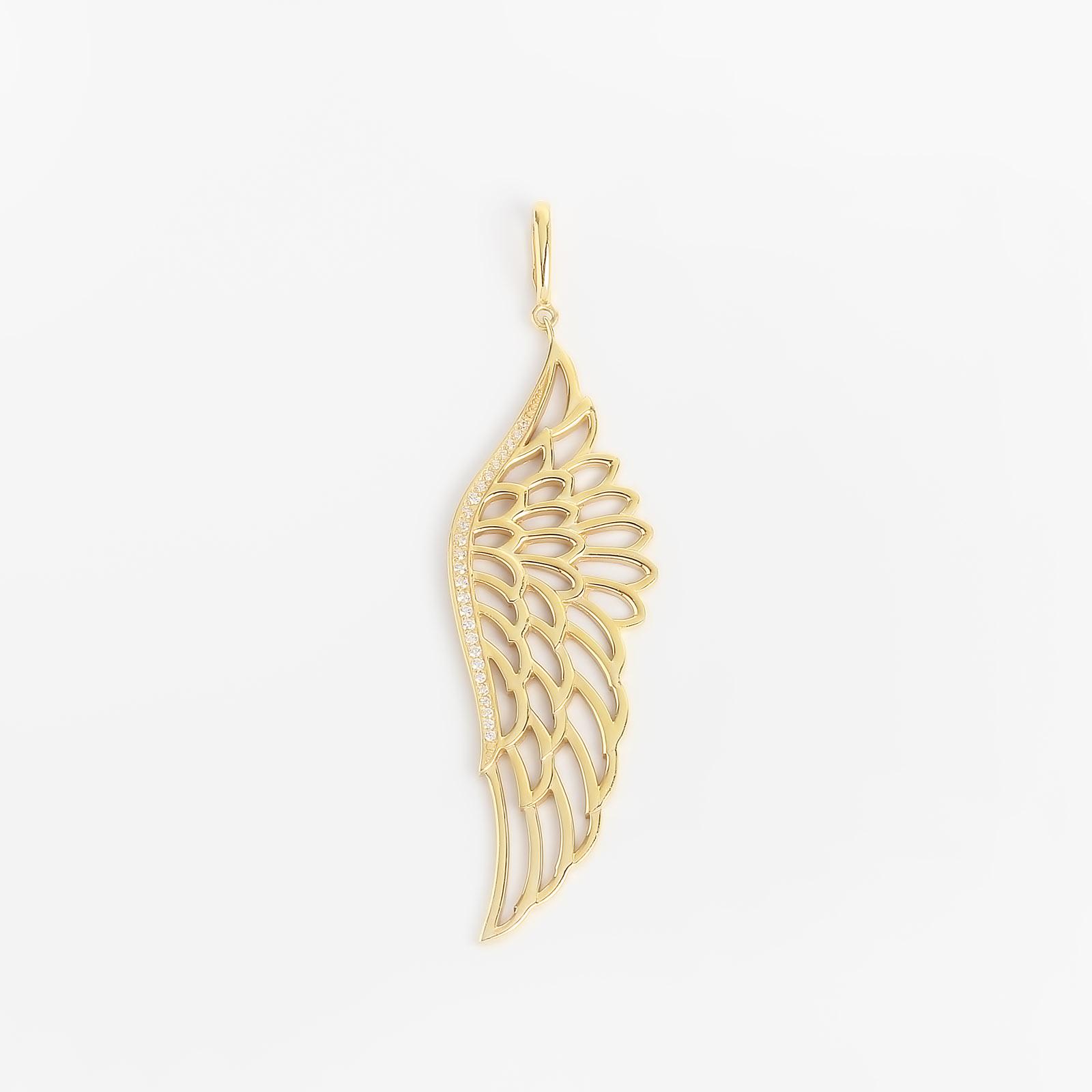 Серебряная подвеска «Крыло ангела»