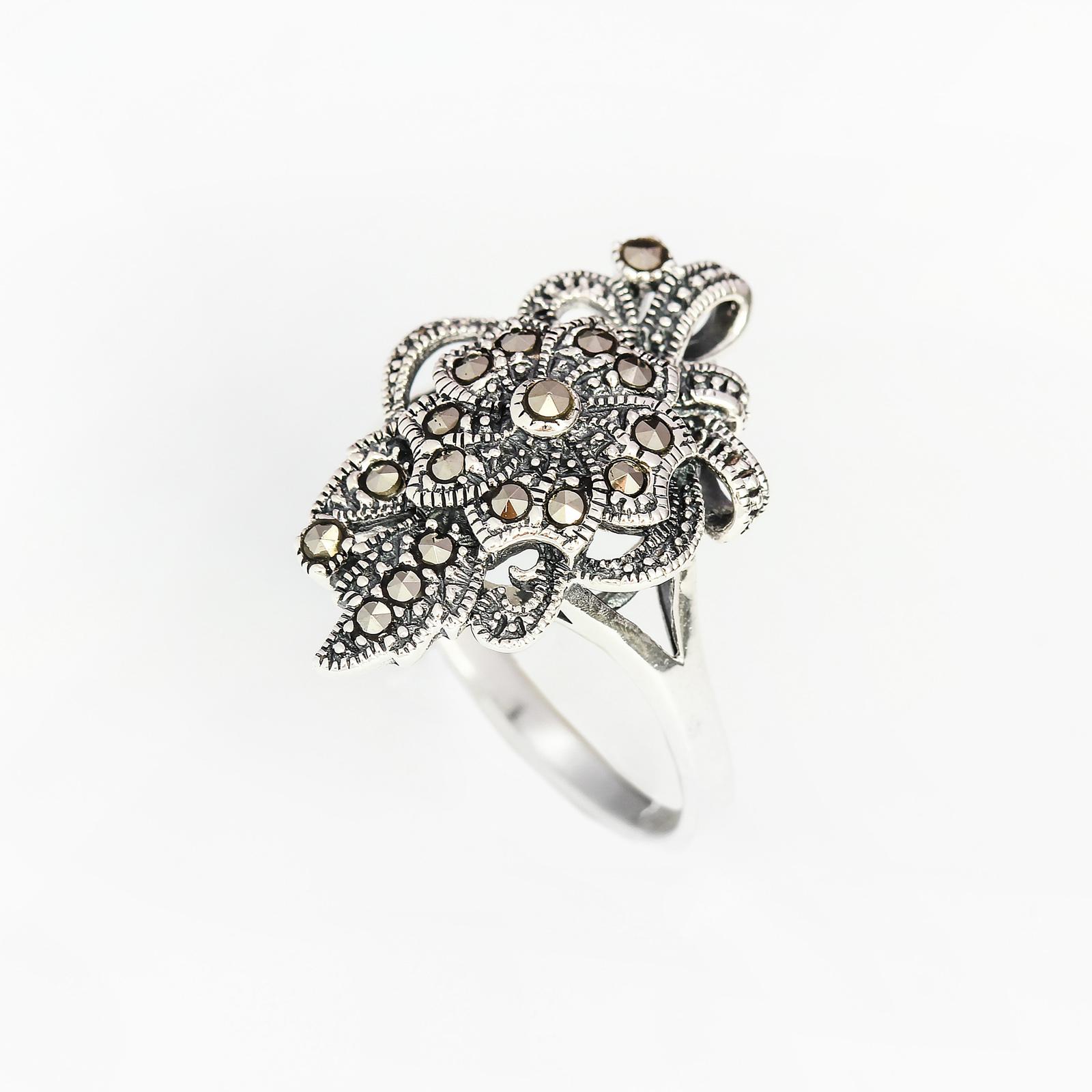 Серебряное кольцо «Базиль»