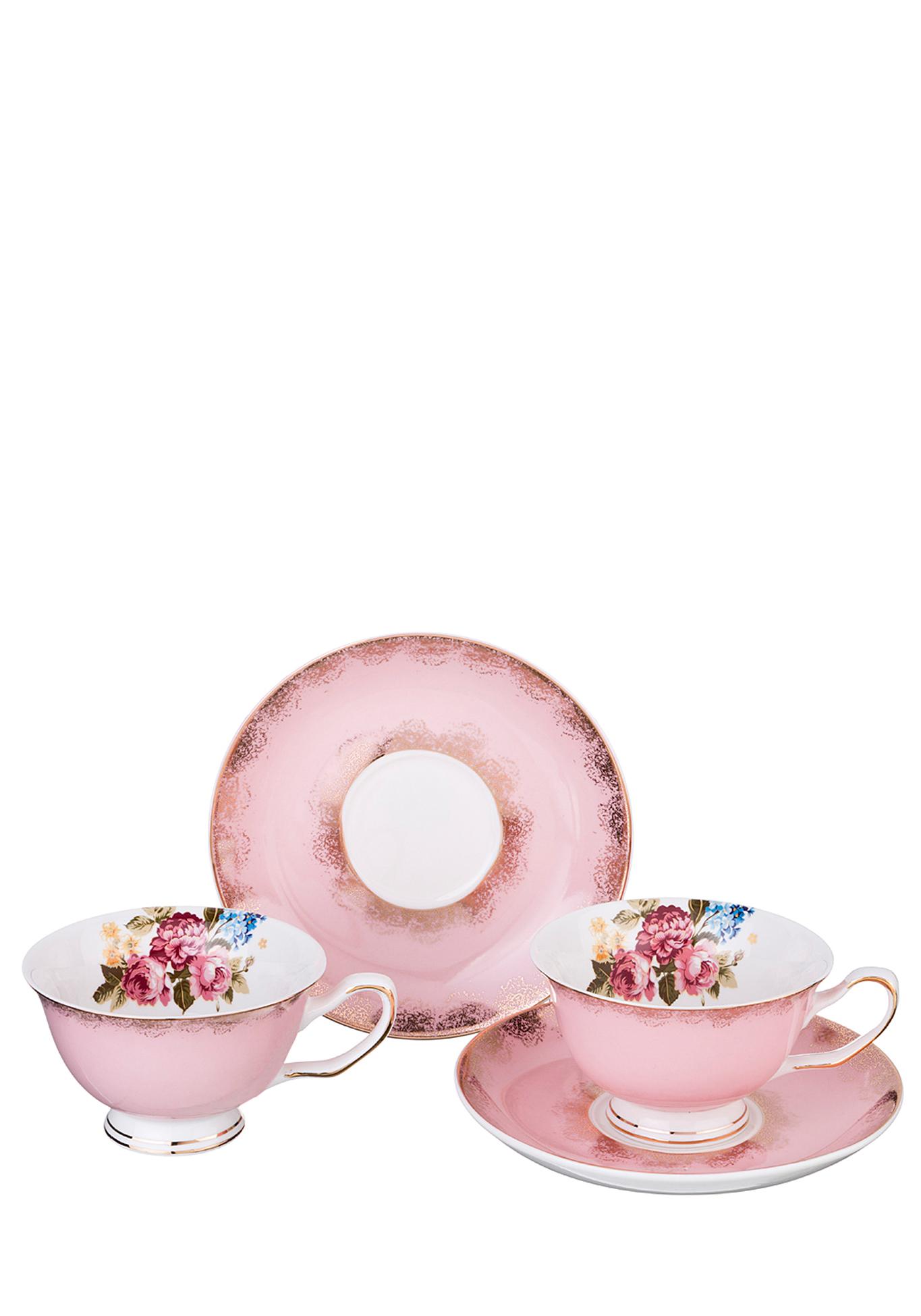 Фото - Чайный набор из фарфора на 2 персоны сервиз чайный из фарфора звездная ночь 2 предмета 104 649 lefard