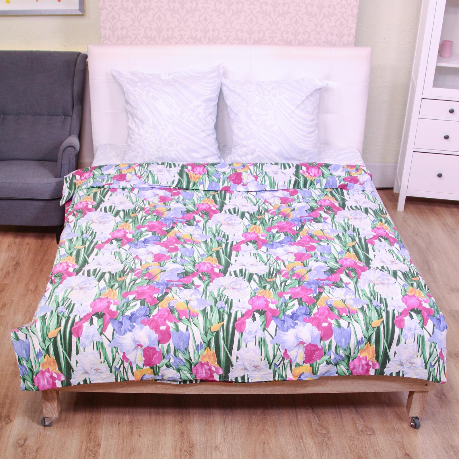 Комплект постельного белья «Чарующий букет»