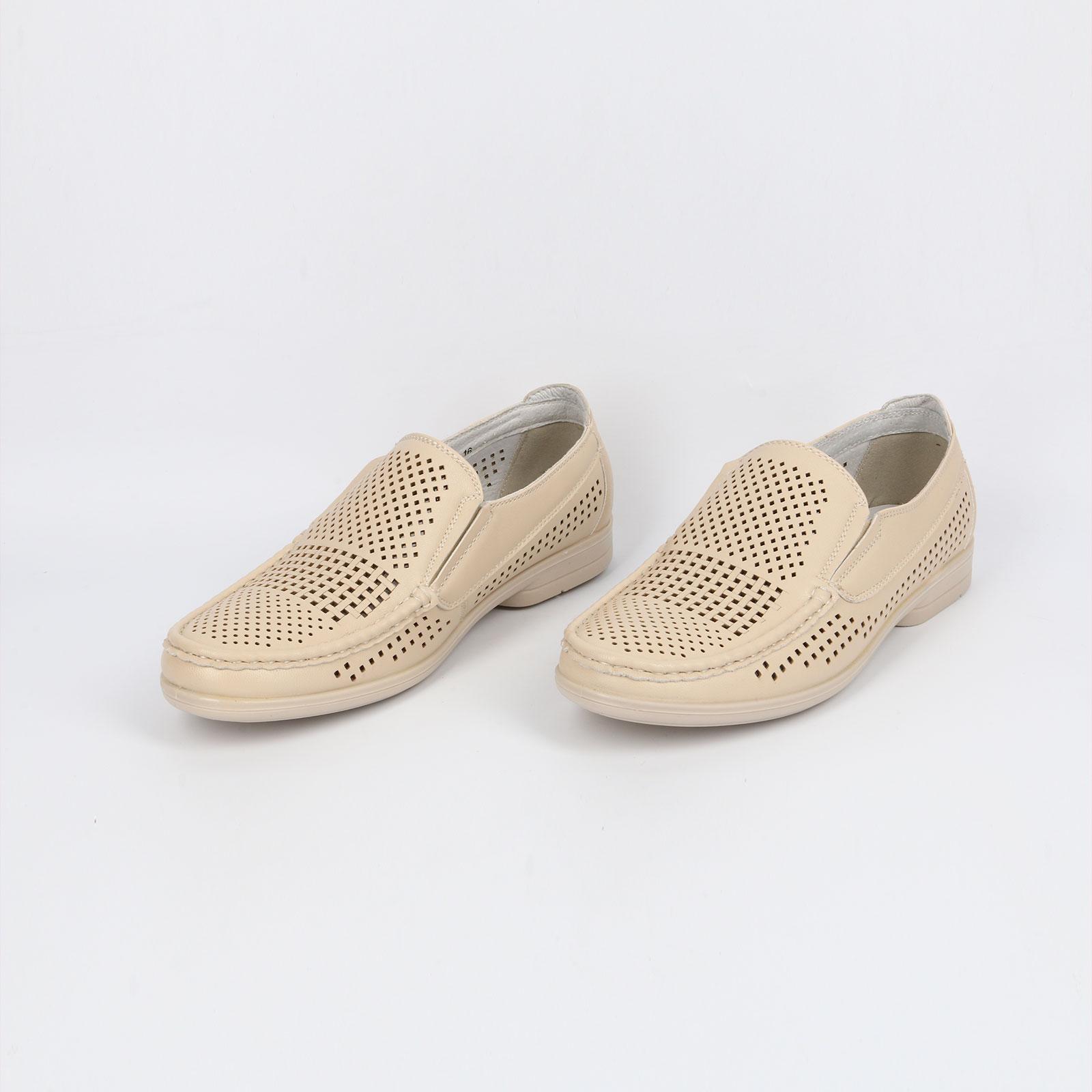 Туфли мужские летние перфорированные