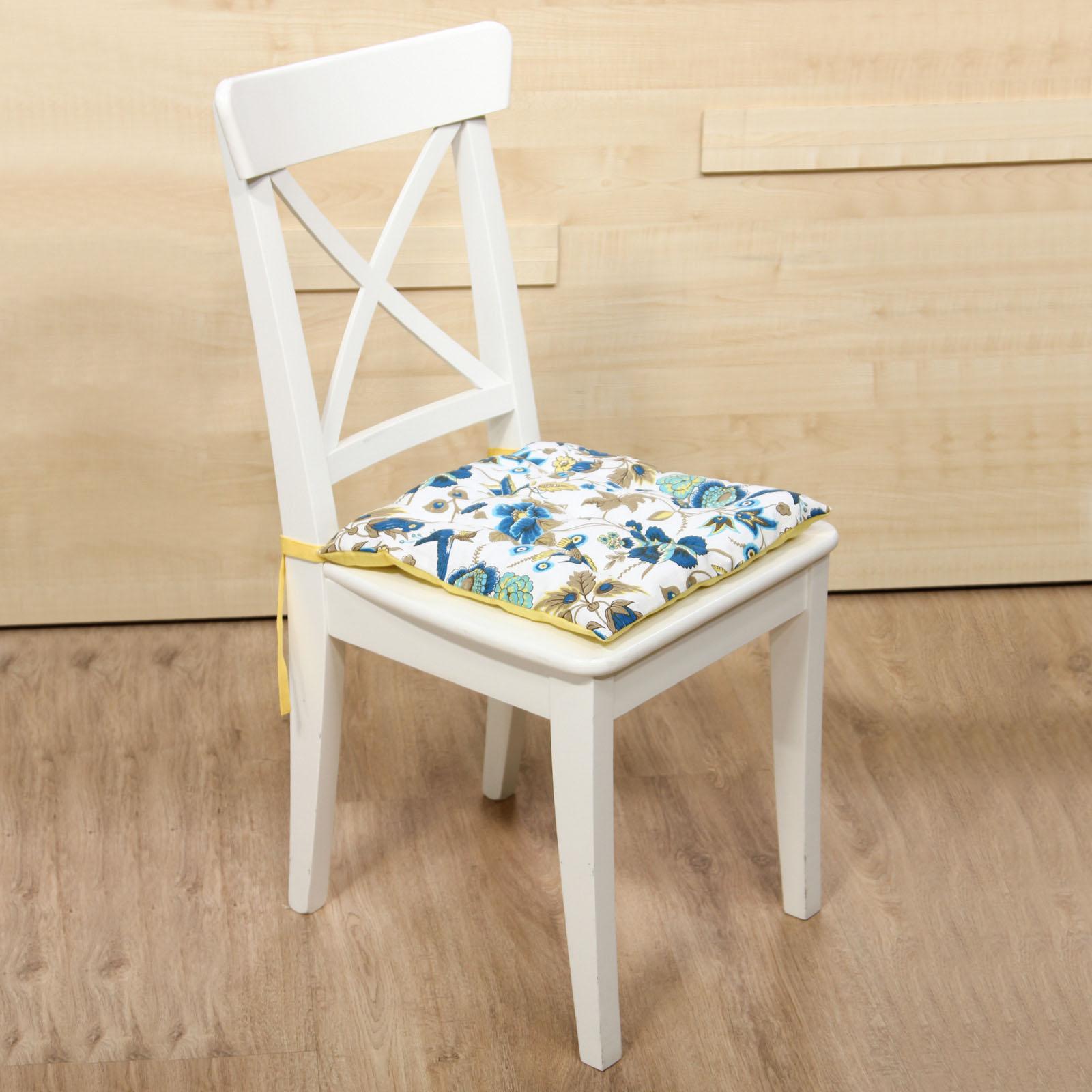 Галета для стула «Райская птичка колибри»