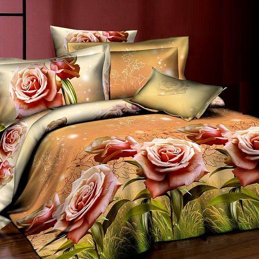 Комплект постельного белья «Винтажная роза»