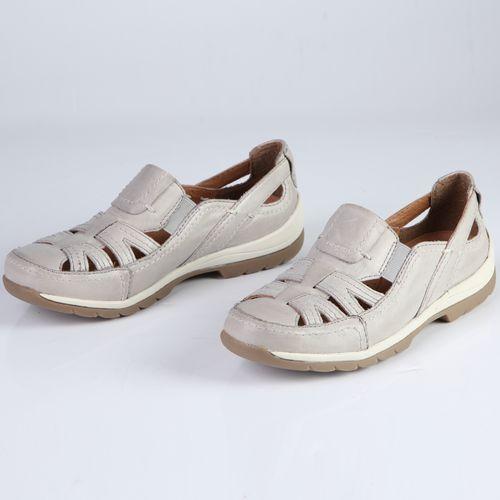 Женские ботинки спортивные из натуральной кожи