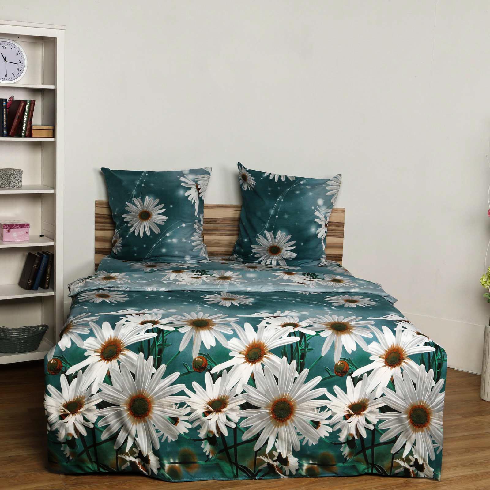 Комплект постельного белья «Белоснежная Ромашка»