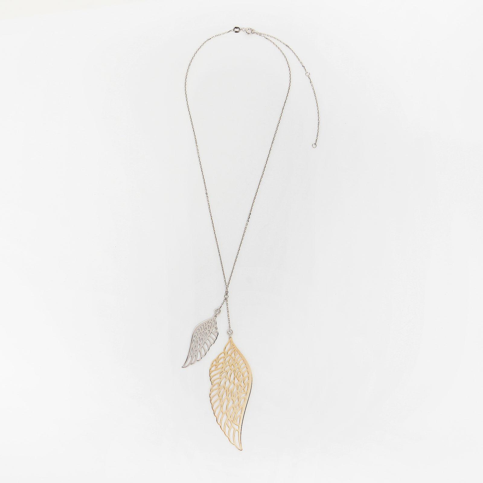 Серебряное колье «Крыло ангела»