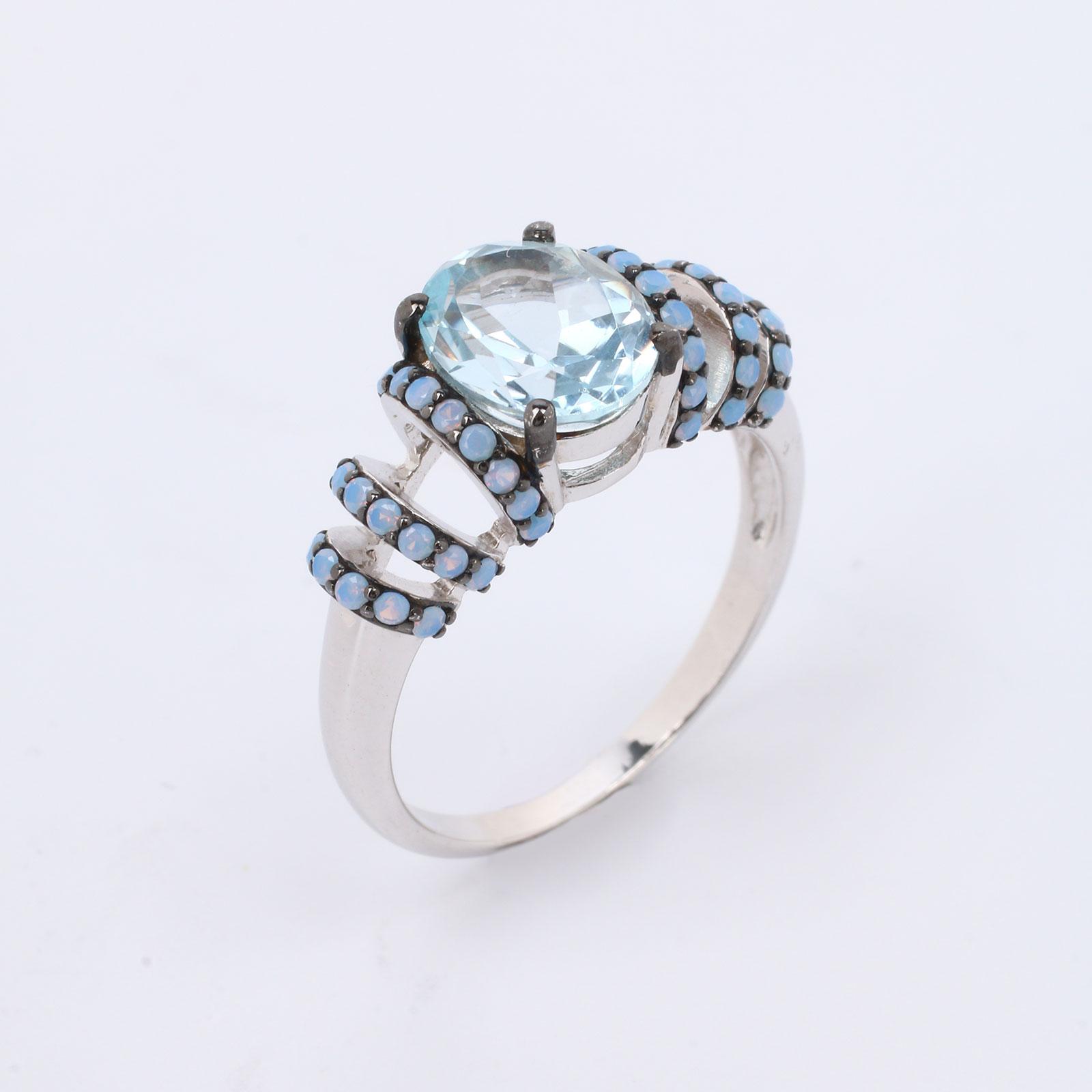 Серебряное кольцо «Изысканый винтаж»