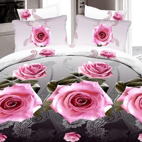 Комплект постельного белья «Розовый вечер»