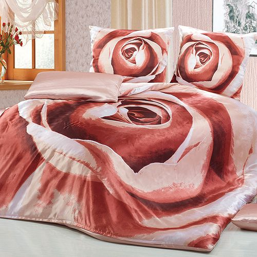 Комплект постельного белья «Кофейная роза»