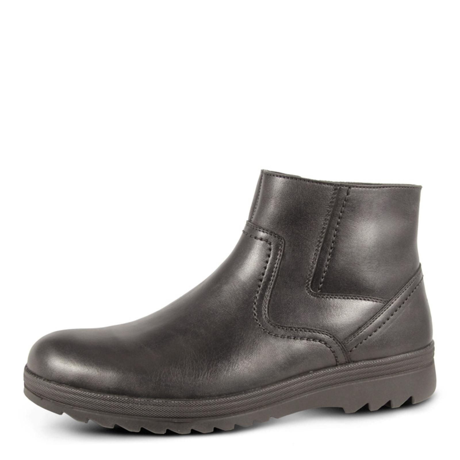 Высокие мужские ботинки на молнии
