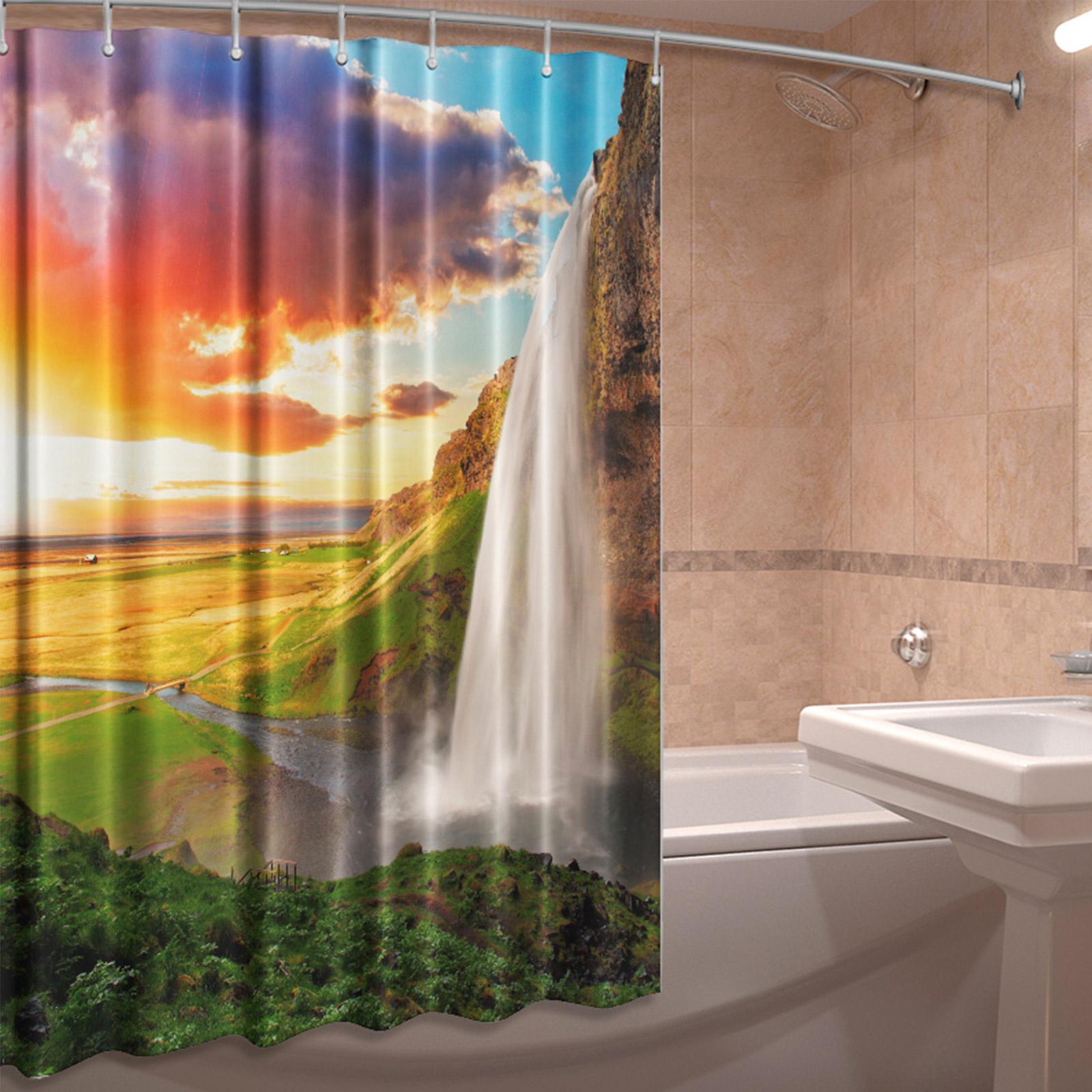 Штора для ванной комнаты «Водопад счастья»