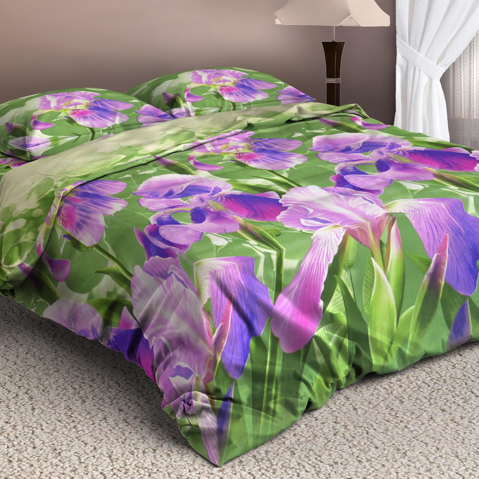 Комплект постельного белья «Сказочные ирисы»