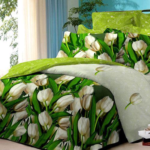 Комплект постельного белья «Свежий тюльпан»