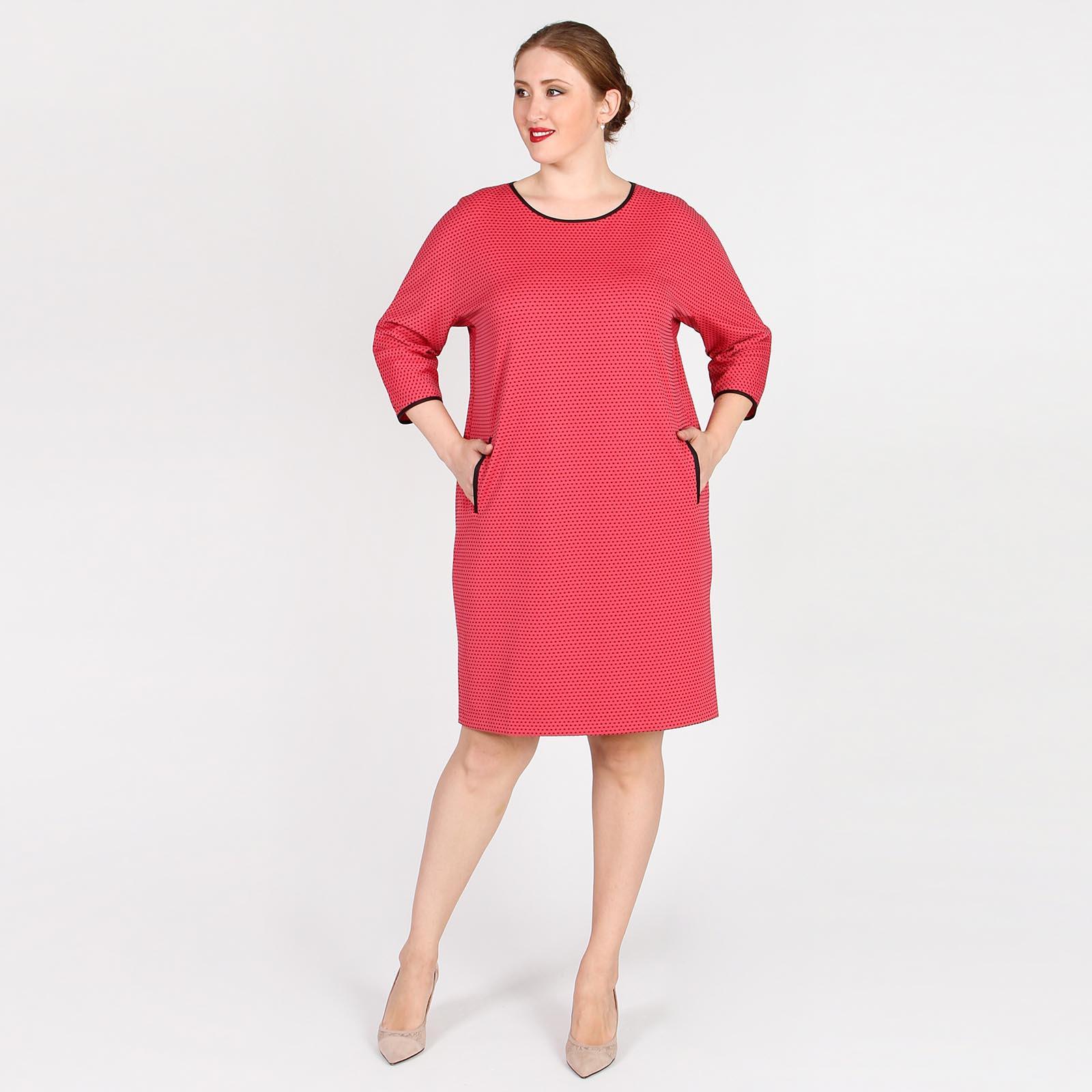 Платье-миди с карманами