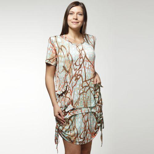 Туника-платье с карманами
