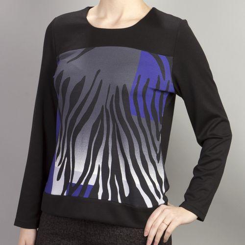 Блуза с принтом «сафари»