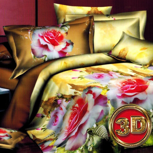 Комплект постельного белья «Райский cад»