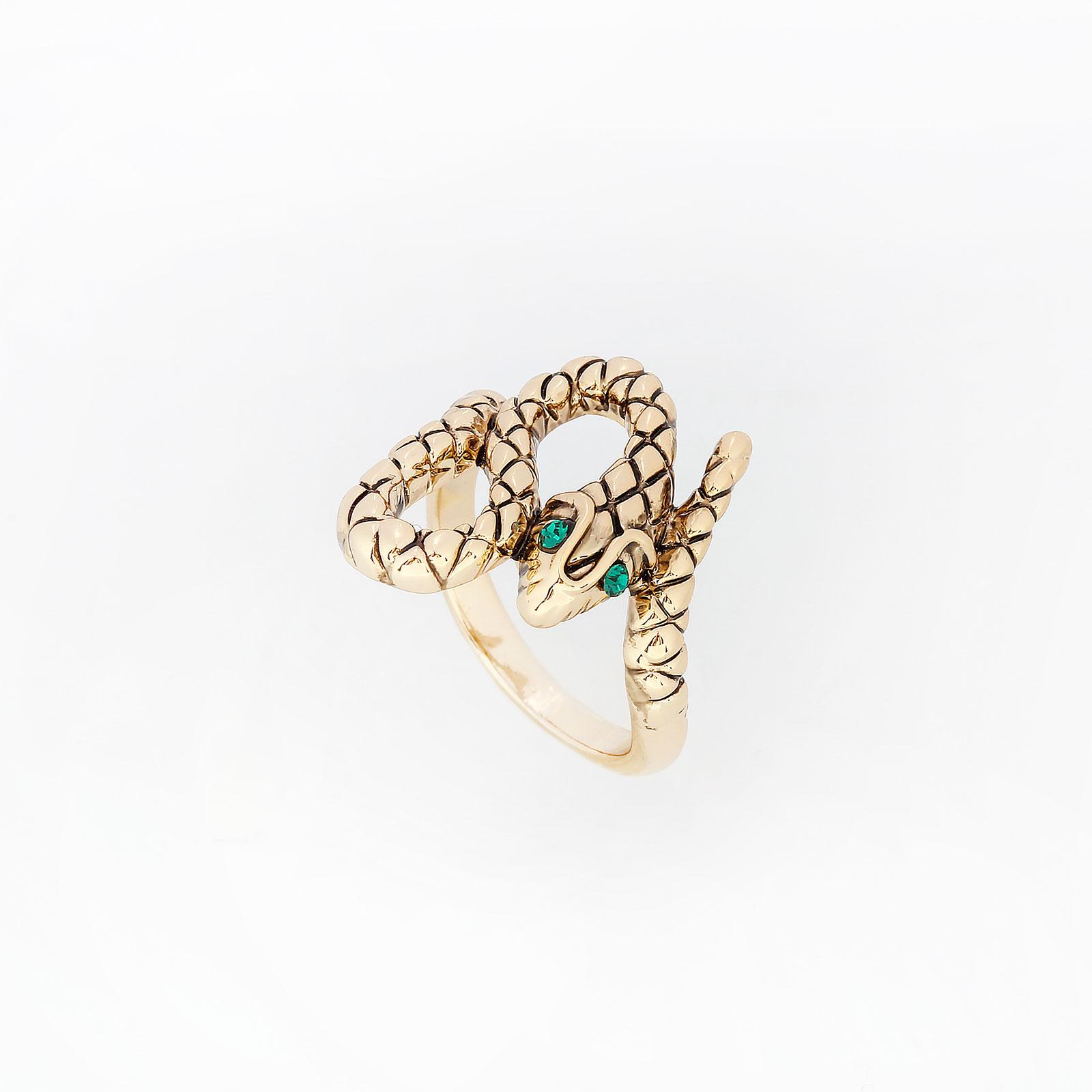 Кольцо «Золотая змейка»