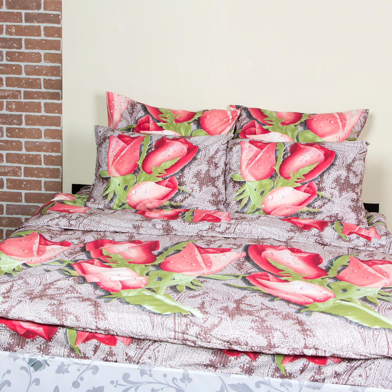 Комплект постельного белья «Грациозный букет»