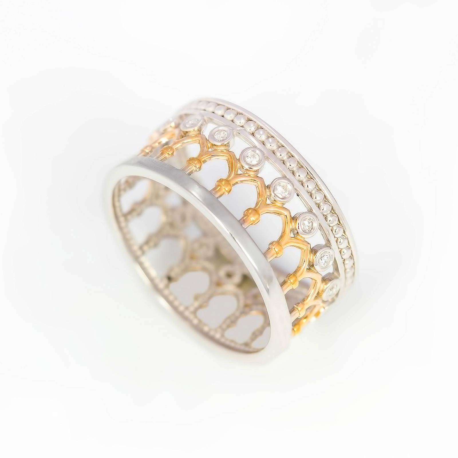 Серебряное кольцо «История Европы»