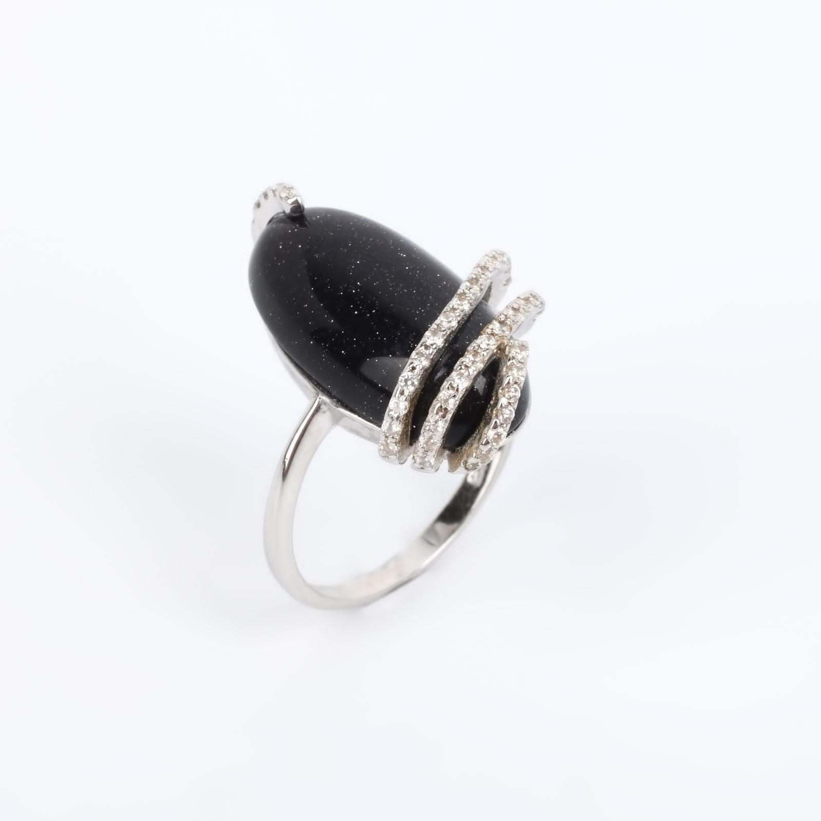 Серебряное кольцо  Комета silver wings silver wings серьги 22ae2227gs r 148