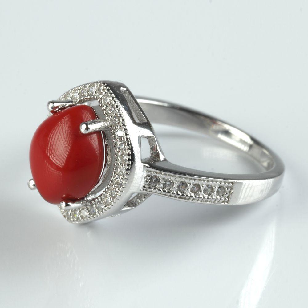 Серебряное кольцо «Луч удачи»