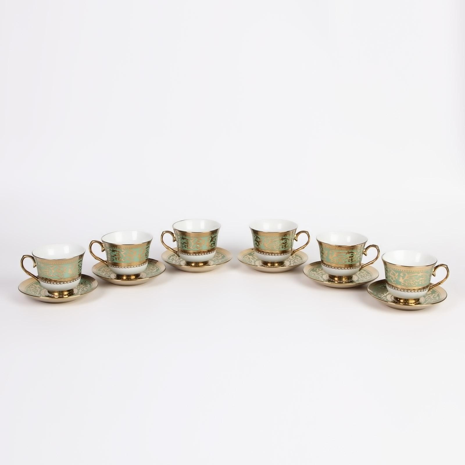 """Чайный набор """"Олимпия"""", 12 предметов"""