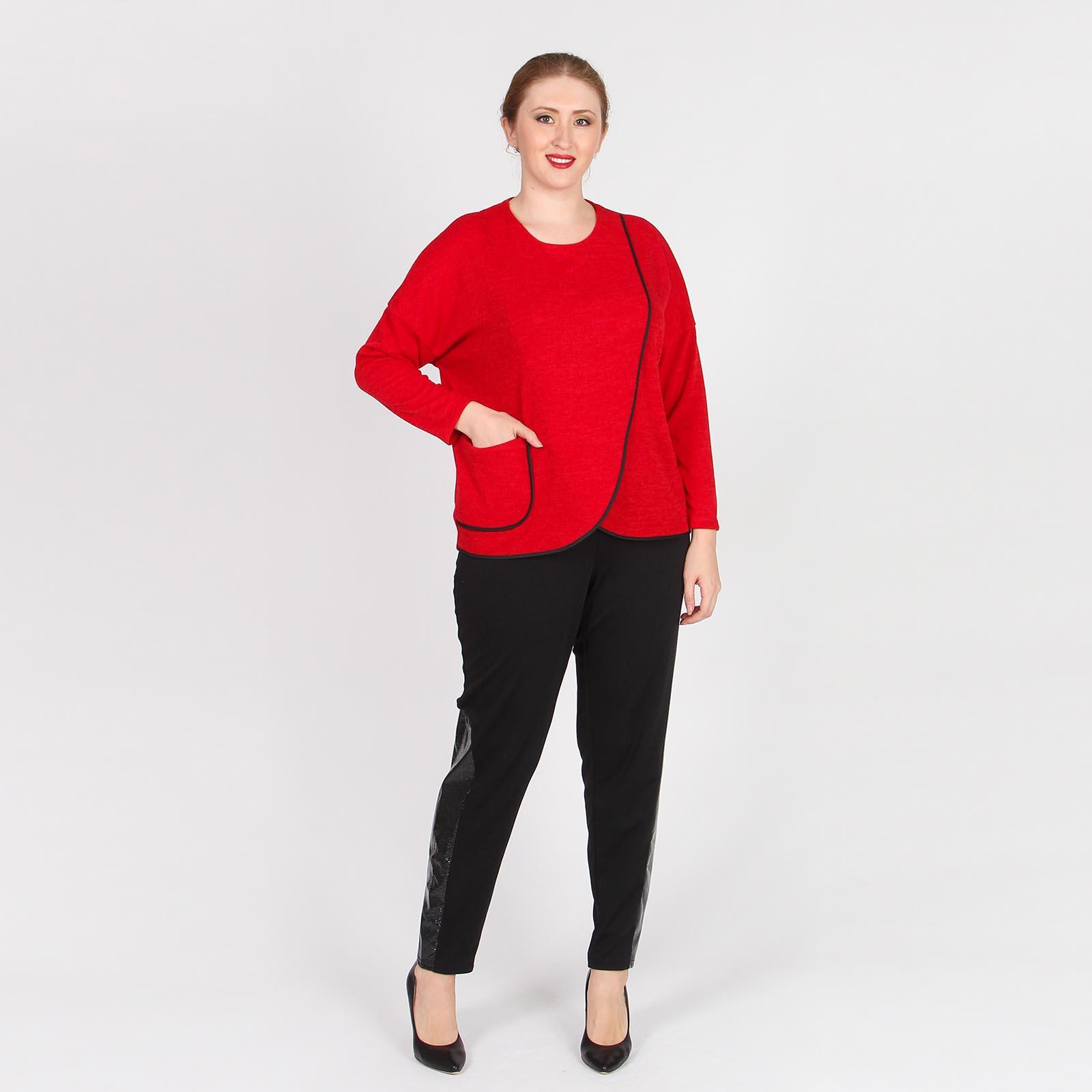 Блуза дизайнерского кроя