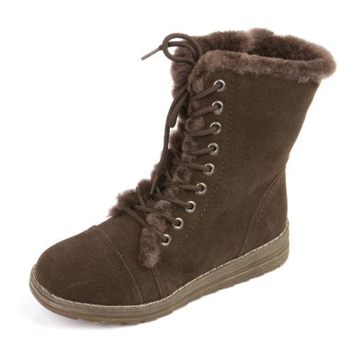 Комфортные женские ботинки на утолщенной подошве