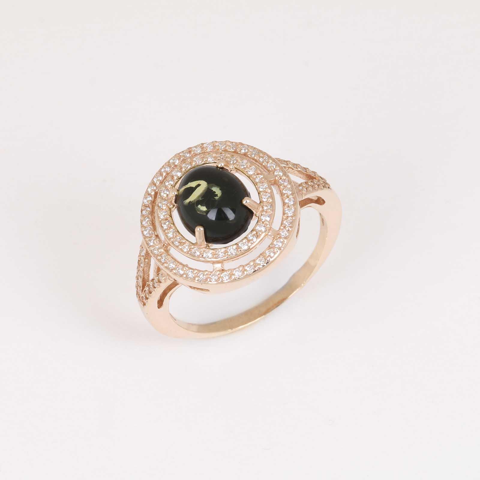 Серебряное кольцо «Совершенство»