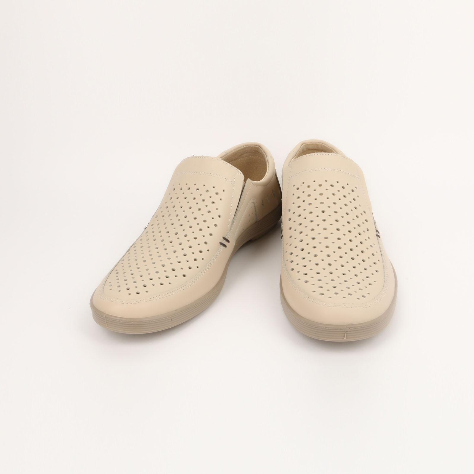 Туфли мужские комфортные с перфорацией